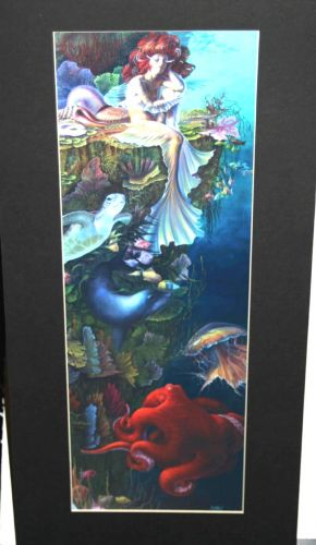 KELLY FREAS  LIMITED EDITION PHOTOPRINT S//N STAR CALL